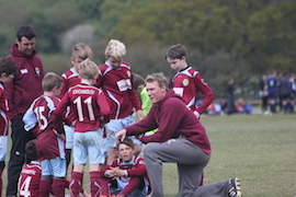 Coaching at Guildford Saints
