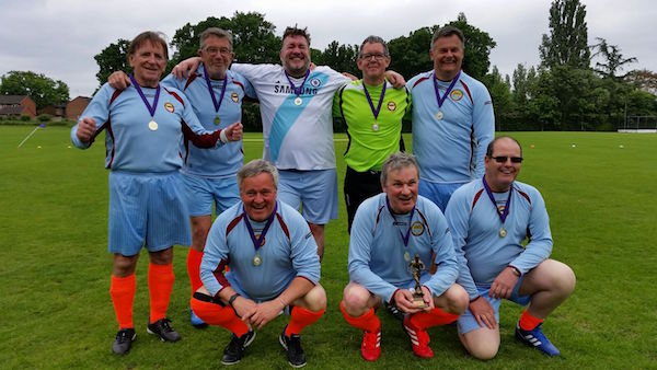 Guildford Saints Walking football winners May 16
